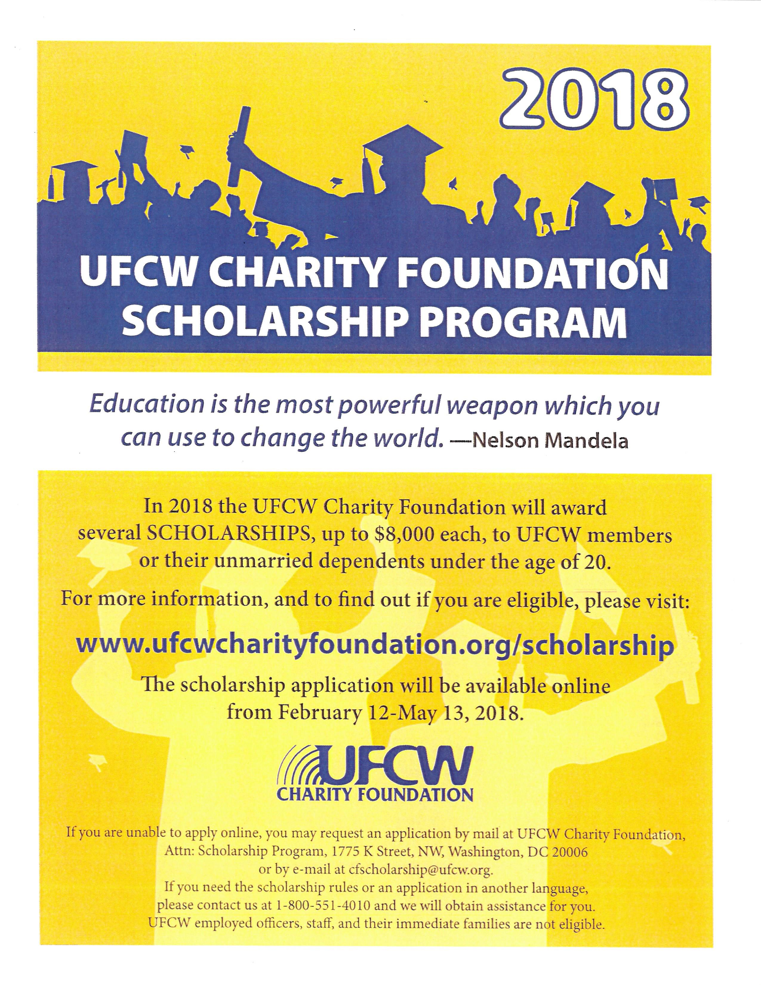 2018-UFCW-Charity-Foundation-Scholarship-Flyer-English_Page_1-1