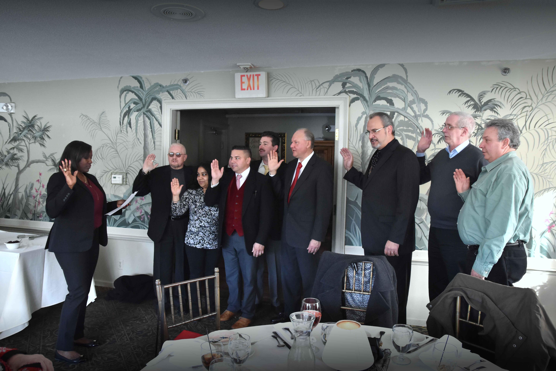Local 919 Executive Board Sworn in!